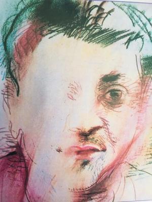 Castaneda portrait efface