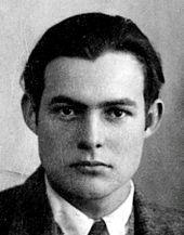 Ernest hemingway 1923
