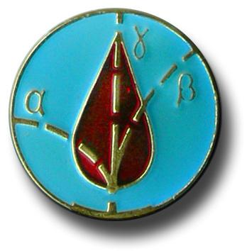 Medaille tchernobyl goutte de sang