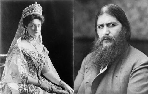 Raspoutiner et la tsarine